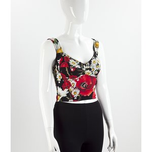 Cropped Dolce & Gabbana estampado
