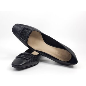 Sapato Bottega Veneta Couro Preto