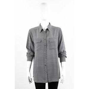 Camisa Equipment Seda B&W