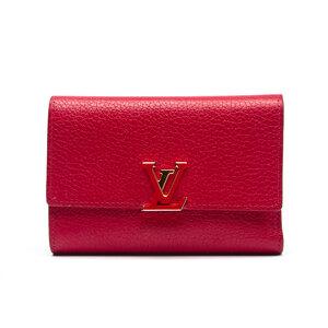 Carteira Louis Vuitton Couro Vermelha