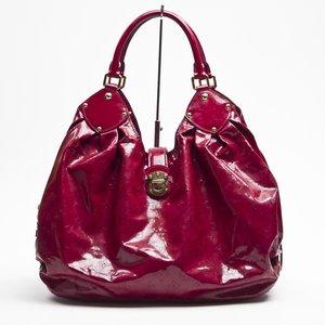 Bolsa Louis Vuitton Surya xl em verniz vermelha