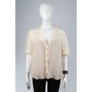 Camisa Talie em Musseline Branca