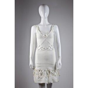 Vestido Lolita de alça off white
