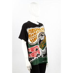 T-Shirt Gucci Preta em Cotton