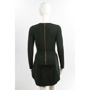 Vestido Balmain stretch Verde