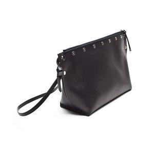Bolsa Celine em couro preta