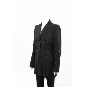Blazer Dolce & Gabbana em tecido preto
