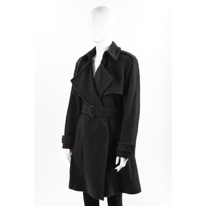 Trench Coat Burberry Cashmere Grafite
