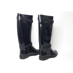 Bota Givenchy em PVC Preta