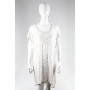 Vestido Dvf Paete Off White