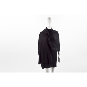 Echarpe Burberry em cashmere preta