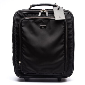 Carry On Bag Gucci em Logomarca com detalhes em Couro Preta