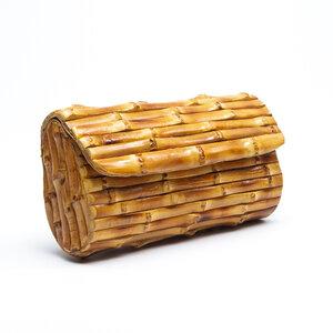 Clutch Glorinha Paranaguá Bamboo Natural
