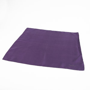 Lenço Ralph Lauren em seda roxo