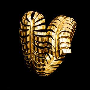 Bracelete Ana Rocha & Appolinario Ouro Amarelo Dourado