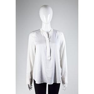 Camisa Vince Seda Off White