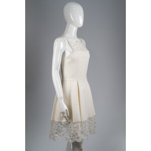 Vestido Alexies Cotton Renda Off White