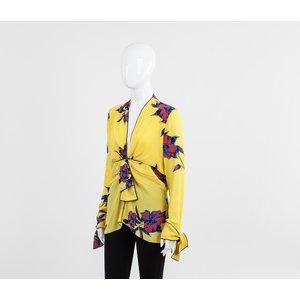 Camisa Proenza Schouler em seda estampada