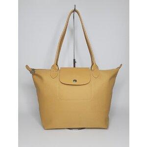 Bolsa Longchamp Nylon Bege