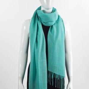 Echarpe Cashmere lã verde