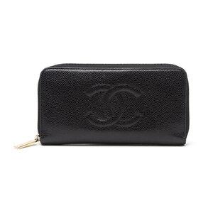 Carteira Chanel Caviar Preta