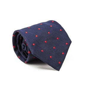 Gravata Rauph Lauren em seda azul e vermelho
