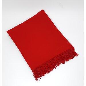 Manta Hermès Cashmere Vermelha