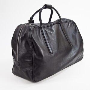 Bolsa de mão Gucci em couro preta