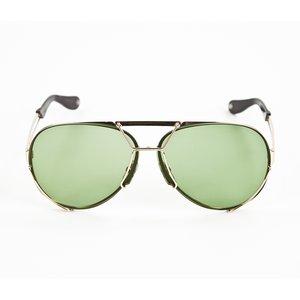 Óculos Givenchy com duas lentes verde e marrom