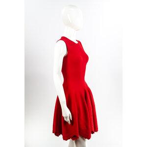 Vestido Alexander Mcqueen Strech Vermelho