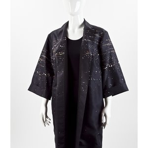 Casaco Dries Van Noten preto
