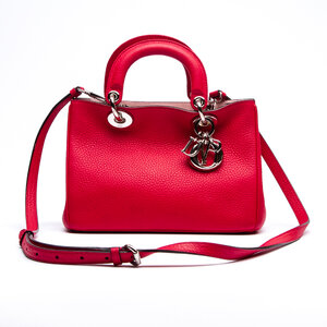 Bolsa Christian Dior Diorissimo Small Couro Pink