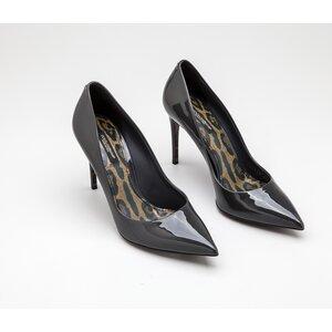 Sapato Dolce & Gabbana em verniz grafite