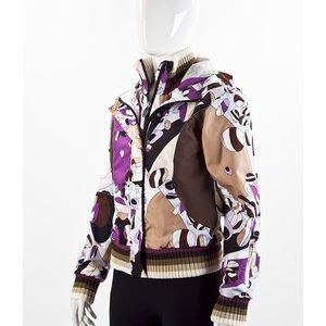 Jaqueta Rossignol Pucci impermeavel estampado