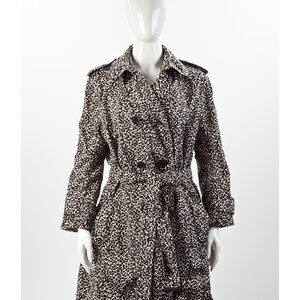 Trench Coat Louis Vuitton animal print