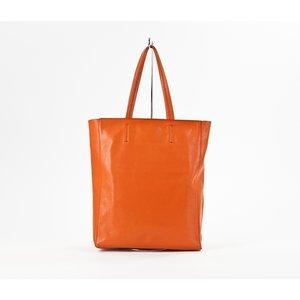Bolsa Celine em couro laranja