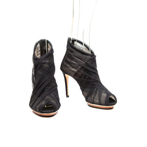 Sandalia Dolce & Gabbana Musseline Preta