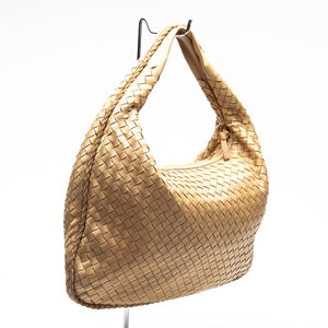 Bolsa Bottega Veneta Intrecciato Leather Bege