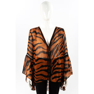 Camisa Tigresse Musseline Animal Print