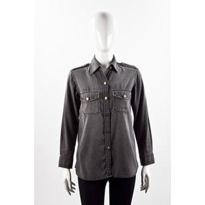 Camisa Current Elliott em jeans preto