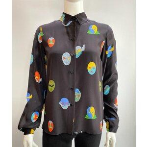Camisa Stella Mccartney Seda Estampada