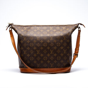 Bolsa Louis Vuitton Amfar Edição Limitada desenhada por Sharon Stone em Logomarca