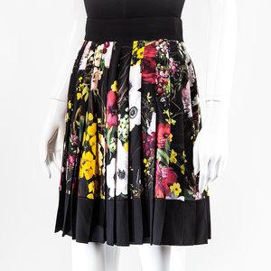 Saia Dolce & Gabbana Seda Estampada