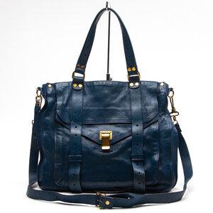 Bolsa Proenza Schouler Couro Azul