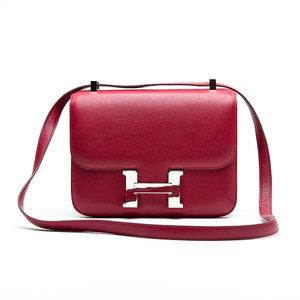 Bolsa Hermes Constance 24 Epson Rouge Chamonix