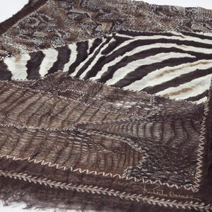 Echarpe Roberto Cavalli animal print
