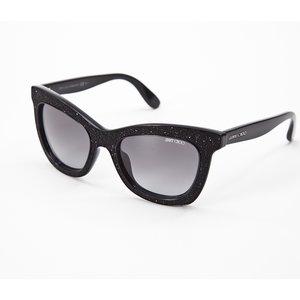 óculos Jimmy Choo preto c/contas em resina