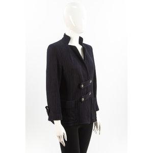Blazer Chanel Cotton Azul Marinho