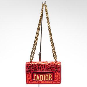 Mini Bolsa Dior J'Adior Mosaic Vermelha