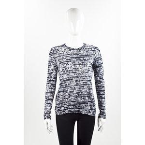 T-Shirt Proenza Schouler estampado em cinza
